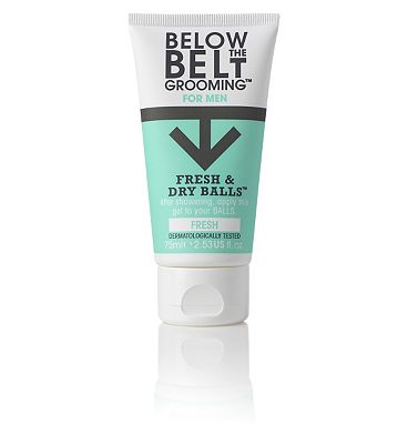 Below the Belt Grooming For Men Fresh & Dry Balls Fresh 75ml