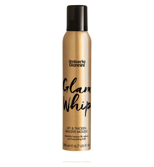 Umberto Giannini Glam Whip Lift & Thicken Massive Mousse 200ml