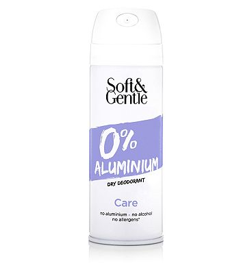 Soft & Gentle 0% Aluminum Dry Deodorant Care 150ml