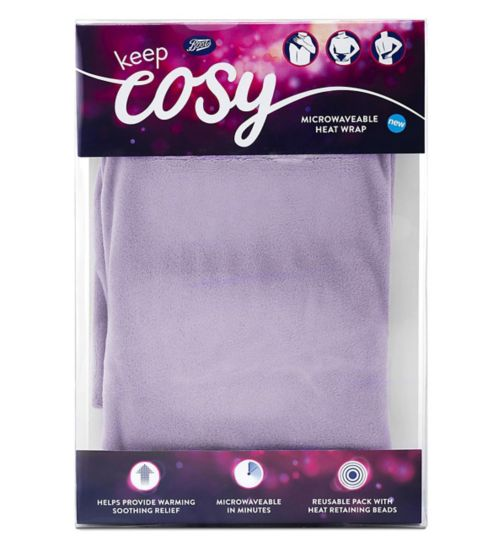 Boots Keep Cosy Microwaveable Heat Wrap - Lilac