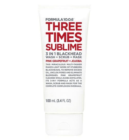 Formula 10.0.6 Three Times Sublime
