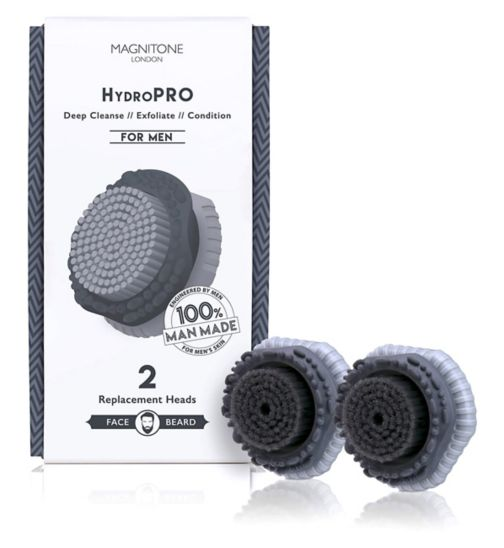 Magnitone HydroPRO Brush Head for Men x2
