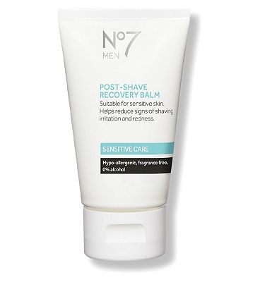 Image of No7 Men Sensitive Care Post-Shave Recovery Balm