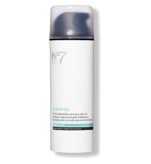 No7 Men Sensitive Care Shave Gel