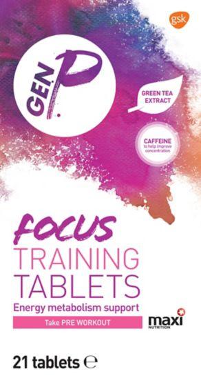 Gen P Focus Training Tablets - 21 Tablets
