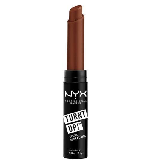 NYX PROFESSIONAL MAKEUP Turnt Up Lipstick