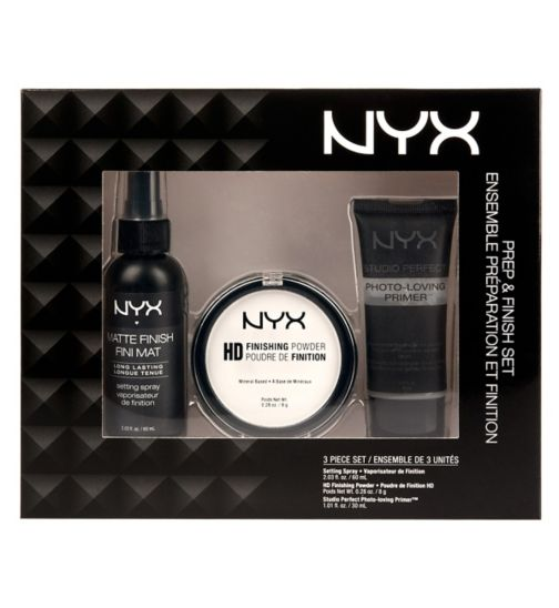 NYX Professsional Makeup Prep & Finish Set - SPP, HDFP, MSS
