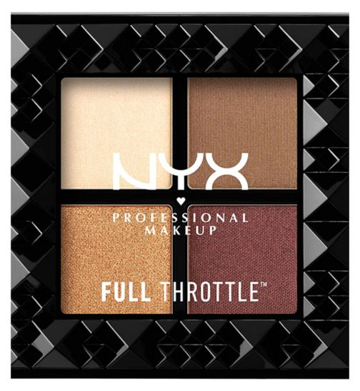 NYX PROFESSIONAL MAKEUP Full Throttle Shadow Palette - Daring Damsel