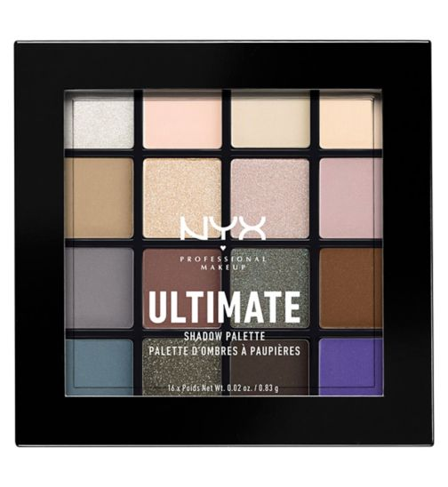 NYX PROFESSIONAL MAKEUP  Ultimate shadow palette - Cool neutrals