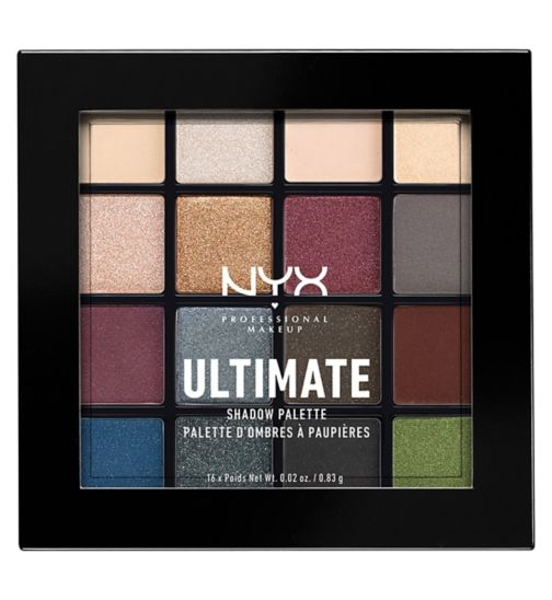 NYX PROFESSIONAL MAKEUP Ultimate shadow palette - Smokey