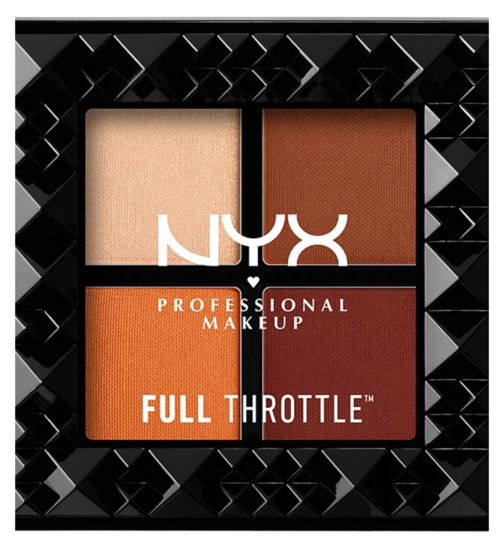 NYX PROFESSIONAL MAKEUP Full Throttle Shadow Palette - Color Riot