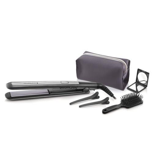 Remington PRO-Ceramic Titanium Straightener gift set