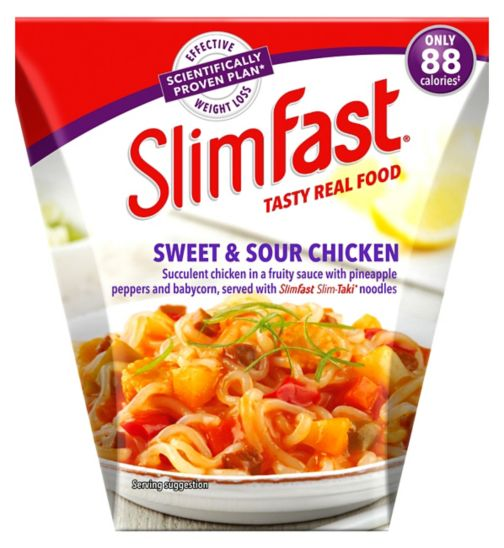 SlimFast Sweet & Sour Chicken Noodles 250g