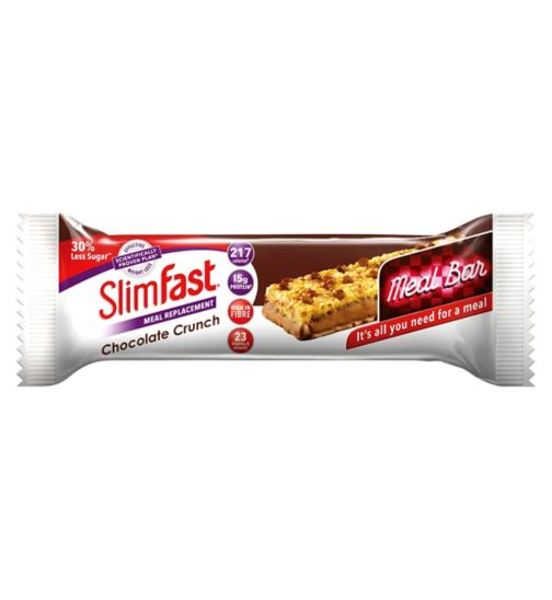 SlimFast Meal Replacement Chocolate Crunch Meal Bar 60g