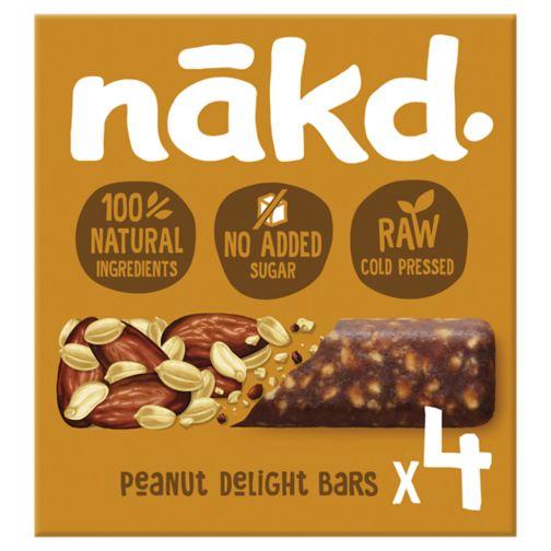 Nakd Peanut Delight - 4 x 35g