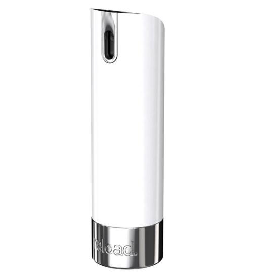 the perfume mini-spray. Only. White