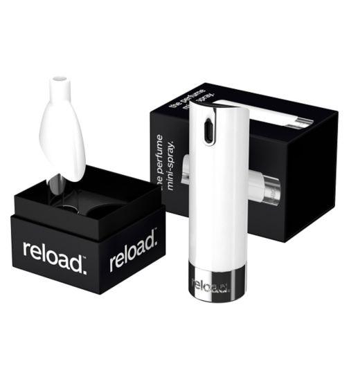 the perfume mini-spray. Premium. White