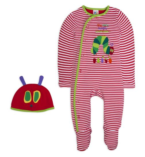 Mini Club Baby All in One and Hat Hungry Caterpillar