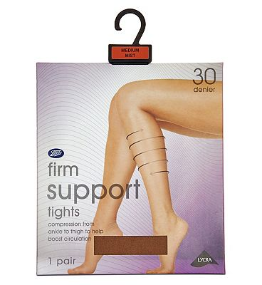 Boots Firm Support tights mist
