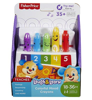 Fisher-Price Laugh & Learn Colourful Mood Crayons