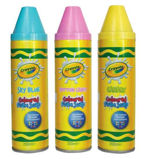 CRAYOLA Foam Bath soap 250ml