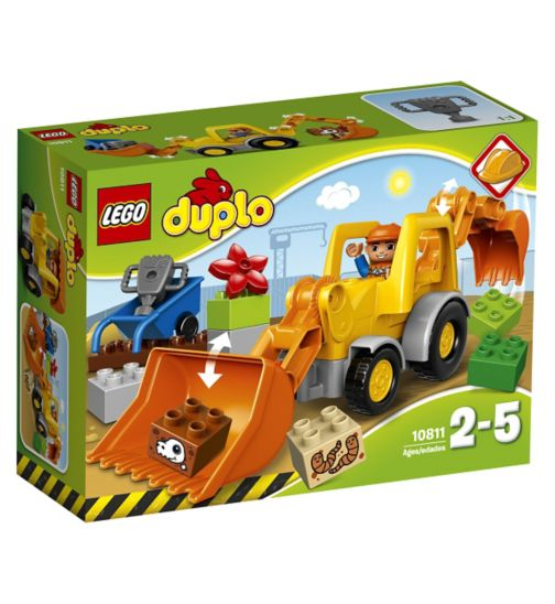 LEGO® Duplo - BACKHOE LOADER 10811