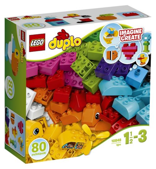 LEGO® Duplo - MY FIRST BRICKS 10848