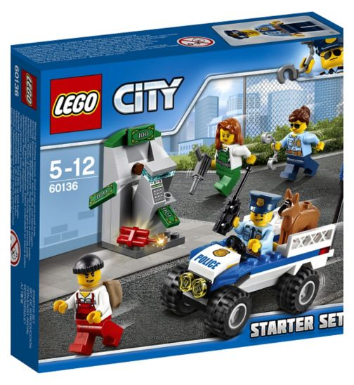 LEGO® City - CITY POLICE STARTER SET 60136