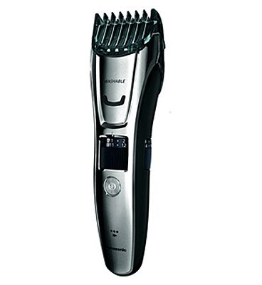 Panasonic ERGB80 Wet & Dry Beard Hair and Body Trimmer with 3 Attachments