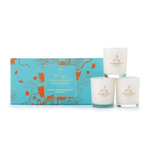 Aromatherapy Associates Joyful Aromatherapy Candles gift set