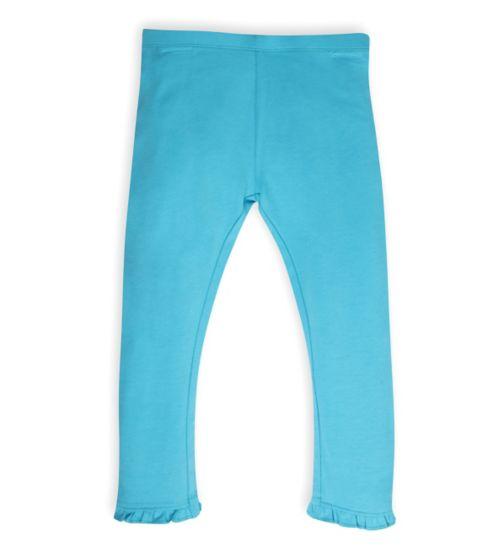 Mini Club Girls Leggings Turquoise