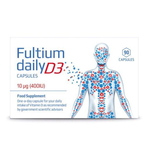 Fultium Daily D3 - 90 capsules