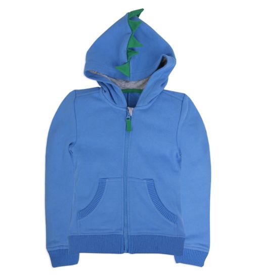 Mini Club Boys Hoodie Blue Spike
