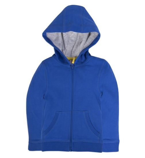 Miniclub Boys Playtime Navy Zip Up Hoodie