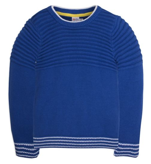 Mini Club Boys Jumper Blue