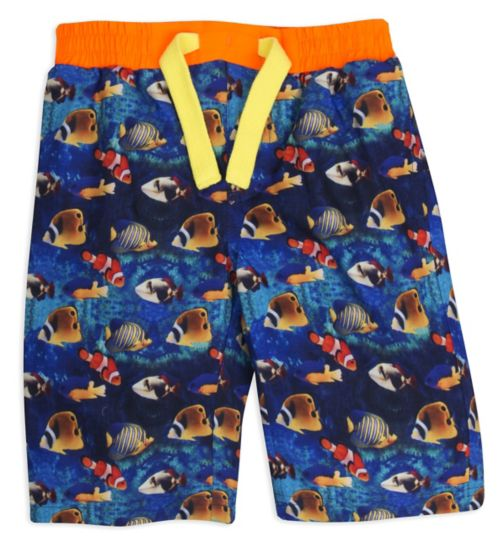 Mini Club Boys Boardshort Blue Fish