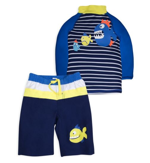 Mini Club Boys 2 Piece Swim Set