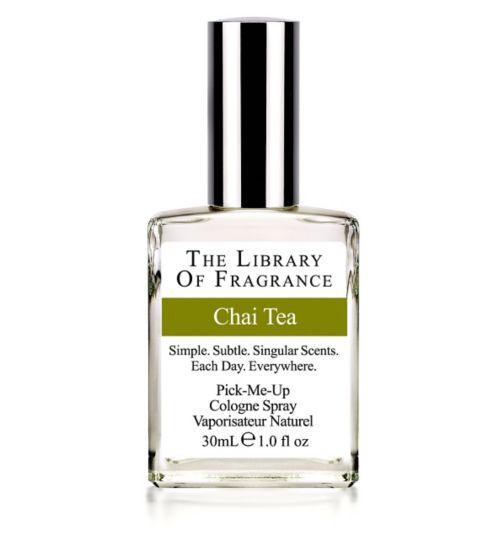 Library of Fragrance Chai Tea Eau de Toilette 30ml