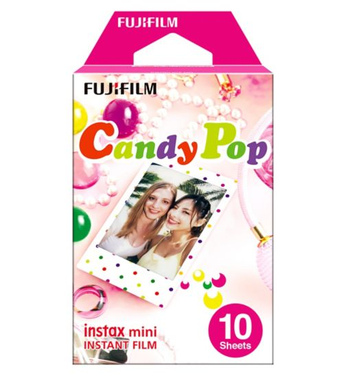 Instax Mini Candy Pop Film - 10 sheets