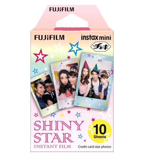 Instax Mini Shiny Star Film 10 Sheets