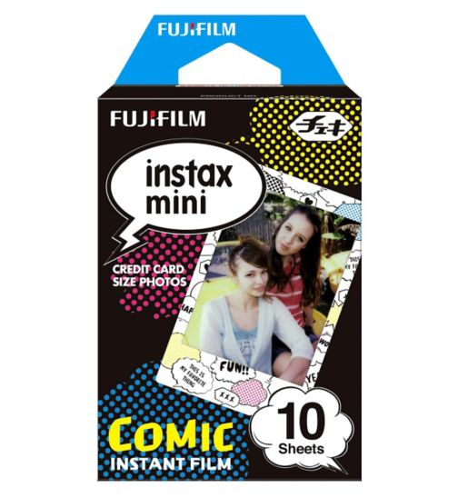 Instax Mini Comic Strip Film 10 Sheets