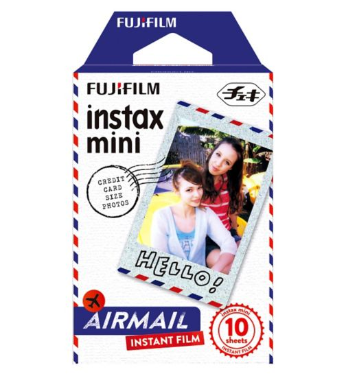 Instax Mini Airmail Film 10 Sheet