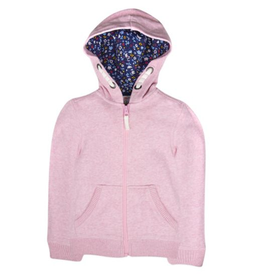 Mini Club Girls Hoodie Pink Marl