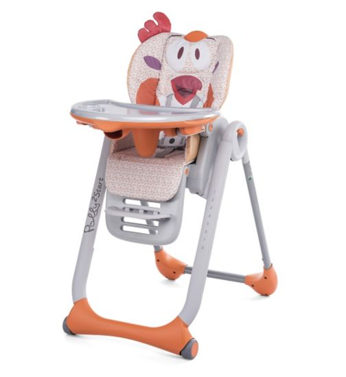 Chicco Polly 2 Start Highchair - Chicken
