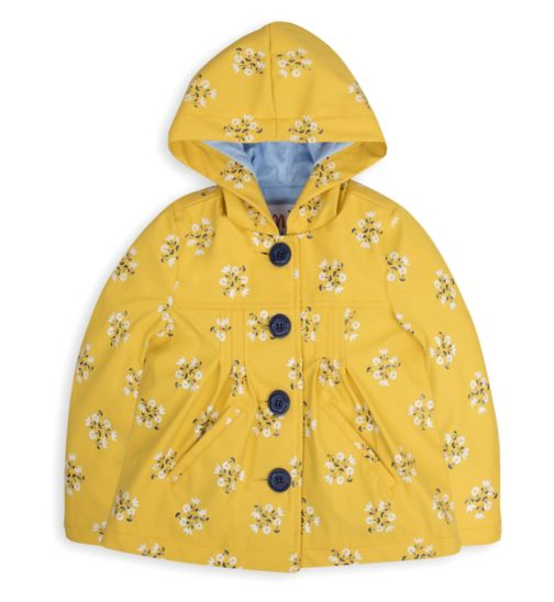 Mini Club Girls Mac Coat Floral