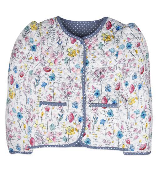 Mini Club Girls Reversible Bomber Jacket