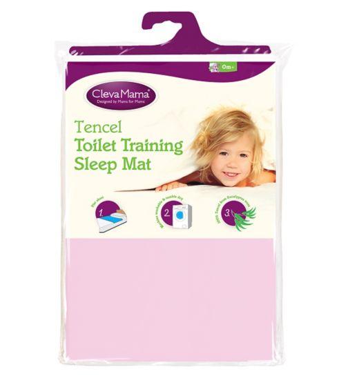 ClevaMama Toilet Training Sleep Mat - Pink