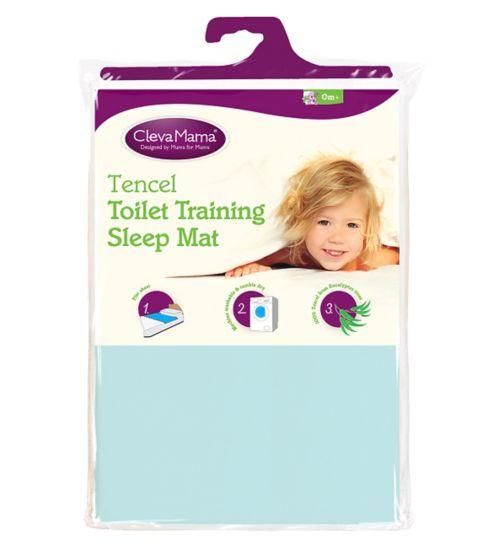 ClevaMama Toilet Training Sleep Mat - Blue