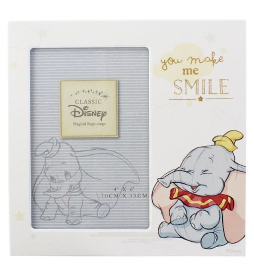 Disney Magical Beginnings Photo Frame - Make Me Smile