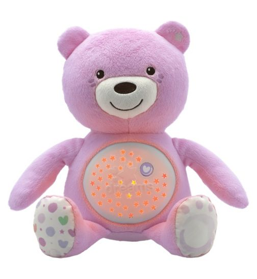 Chicco Baby Bear Night Light - Pink